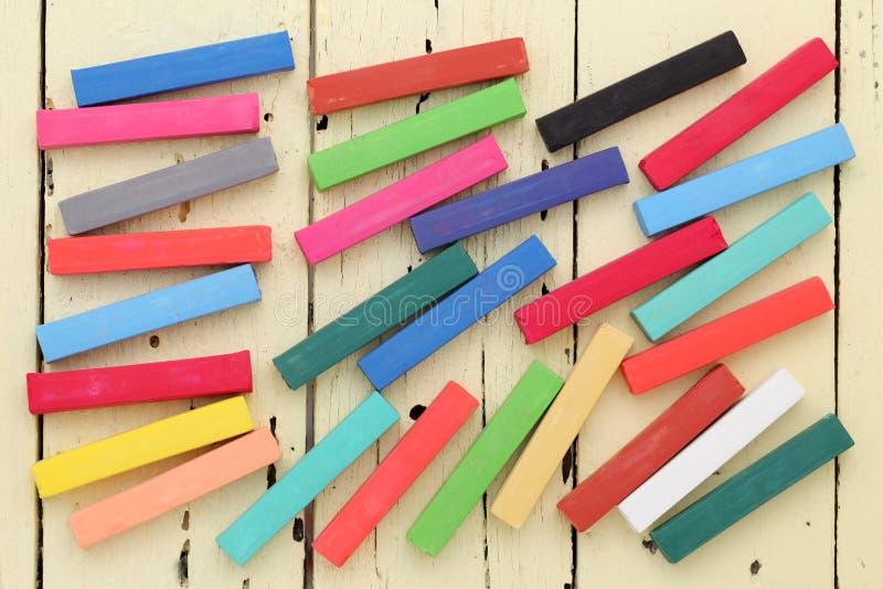Красочные Crayons Стоковые Фото