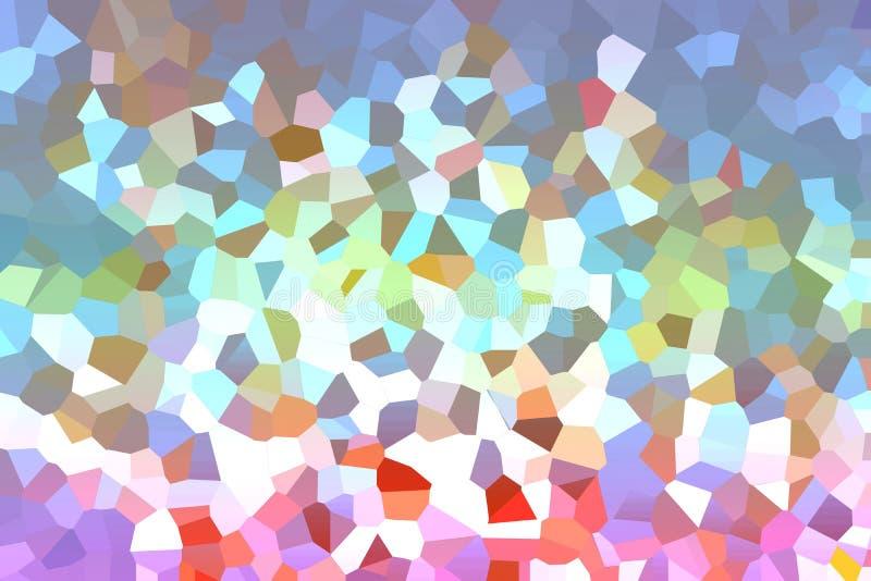 красочный абстрактный полигон выкристаллизовывать искусство триангулярная радуга иллюстрация вектора