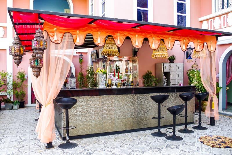 Красочный бар замораживания стоковое фото
