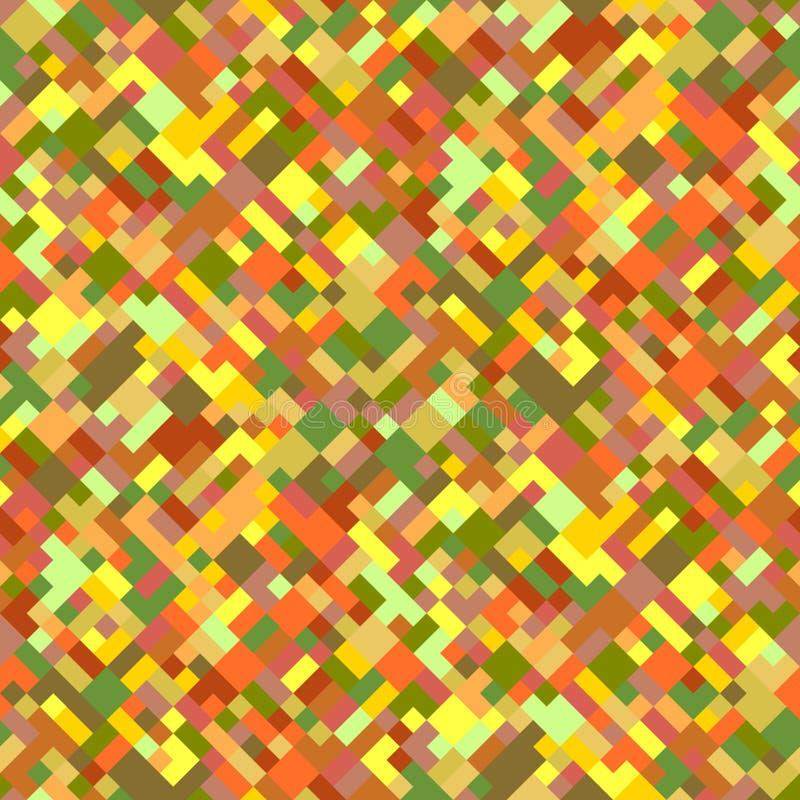 Красочный безшовный раскосный геометрический дизайн предпосылки картины иллюстрация вектора