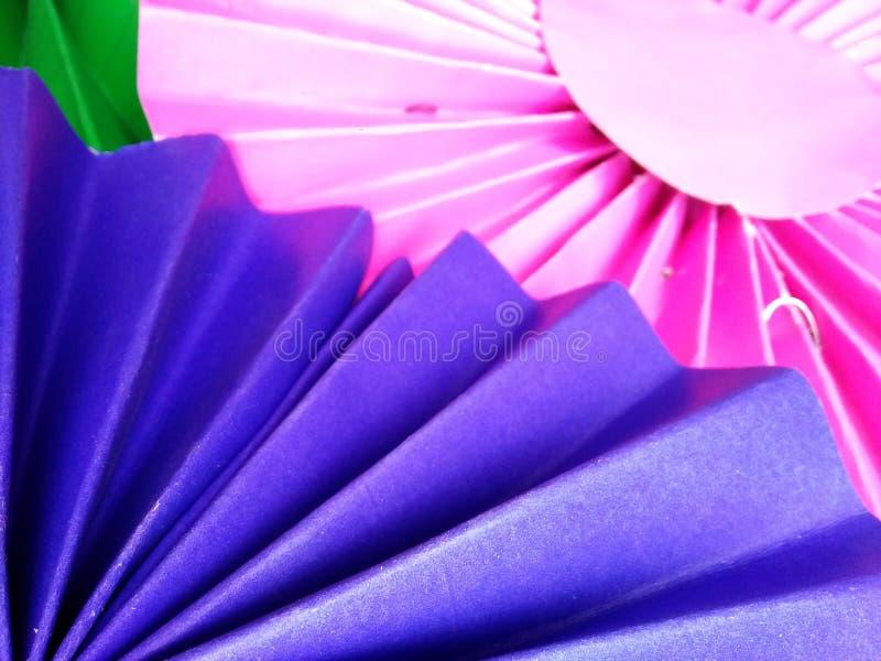 Красочный бумажный фон дуновения стоковые фотографии rf