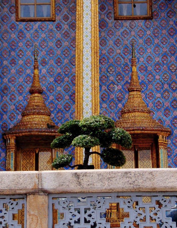 Красочный грандиозный дворец стоковое изображение