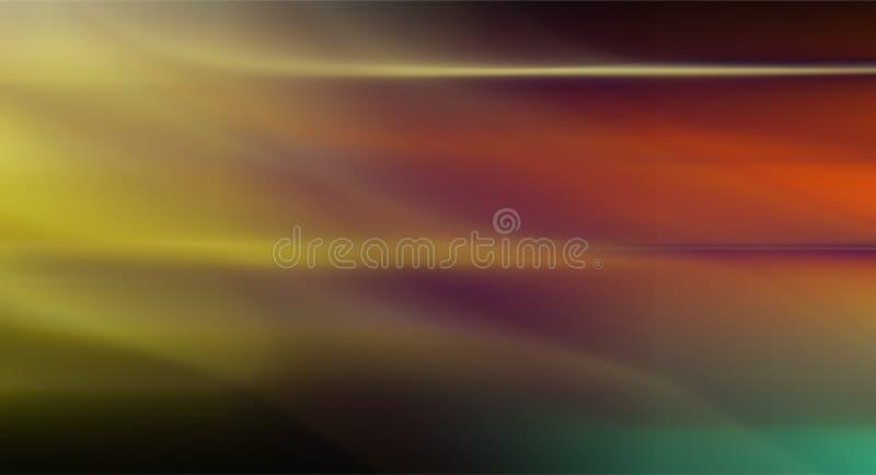 Красочный дизайн вектора предпосылки конспекта нерезкости, красочная запачканная затеняемая предпосылка, яркая иллюстрация вектор бесплатная иллюстрация