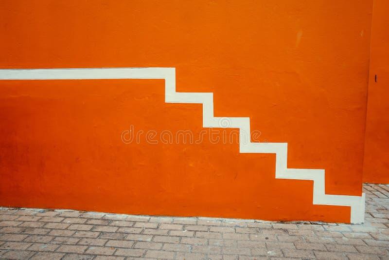 Красочный дом Bo Kaap стоковое изображение