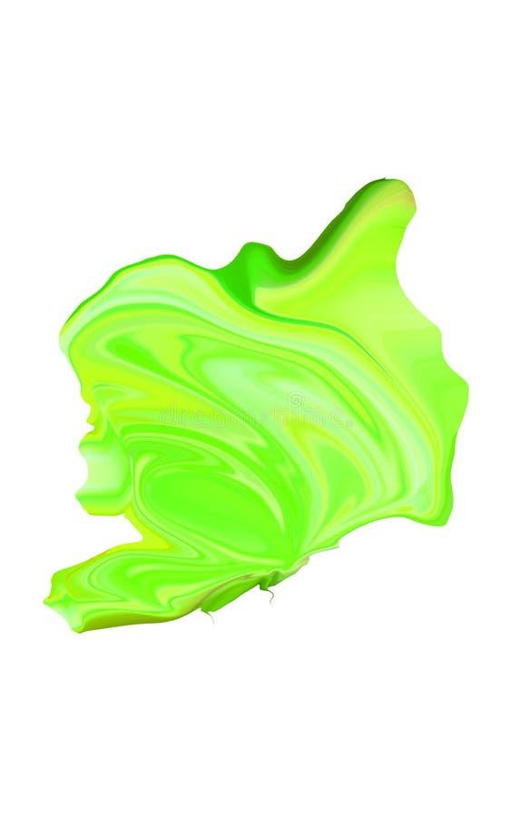 Красочный конспект и расплывчатая предпосылка с яркими цветами стоковые изображения rf