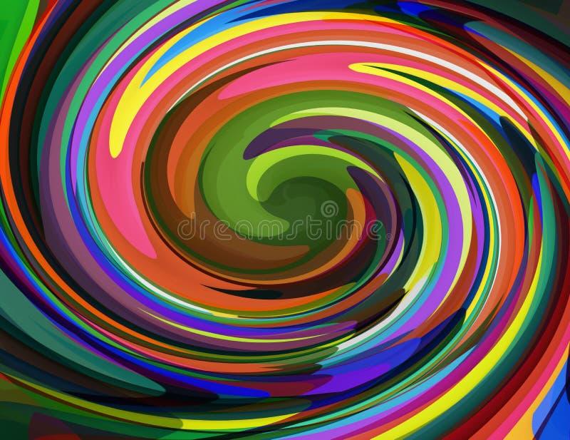 Красочный конспект предпосылки бесплатная иллюстрация