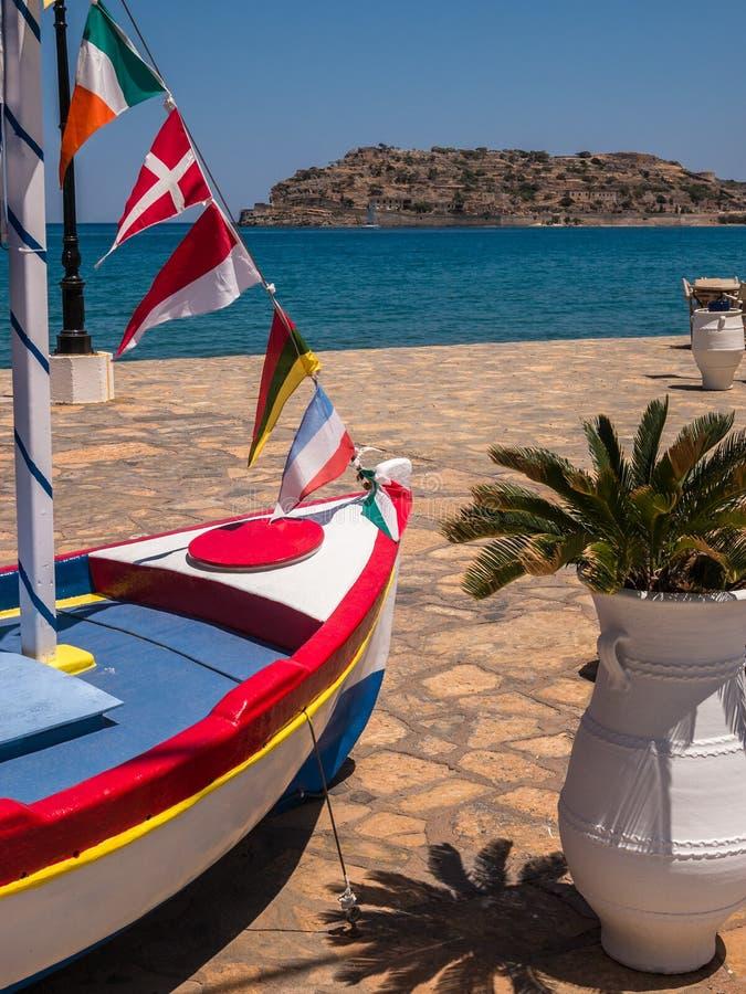 Красочный Крит в Греции стоковые изображения rf