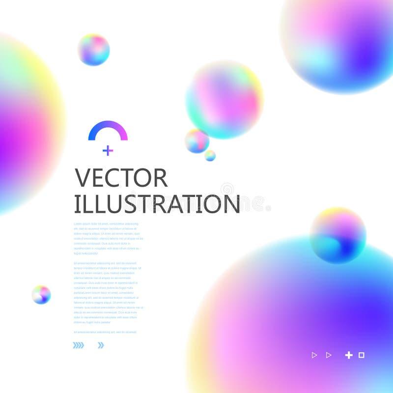 Красочный круг постепенно форм бесплатная иллюстрация