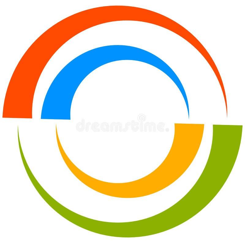 Download Красочный мотив круга с двухраздельными кругами Родовой циркуляр Ic Иллюстрация вектора - иллюстрации насчитывающей concept, конструкция: 81814710