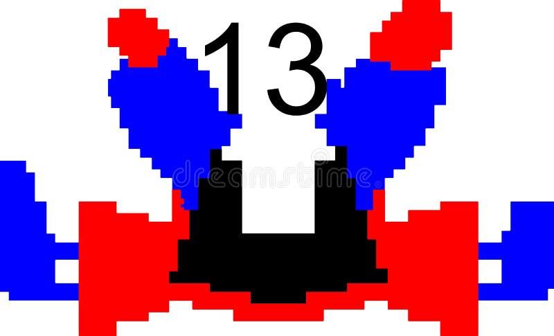 Красочный танцуя компьютер предпосылки конспекта номера произвел изображение и дизайн обоев бесплатная иллюстрация