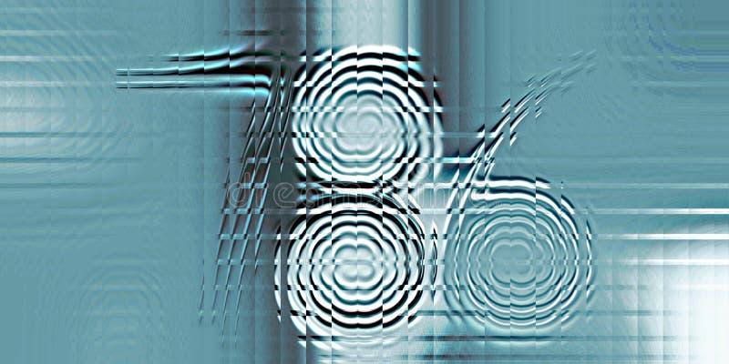 Красочный удачливый 786, glittery, затенять и освещать с компьютером влияния 3 d произвел фоновое изображение и дизайн wallapaper иллюстрация вектора