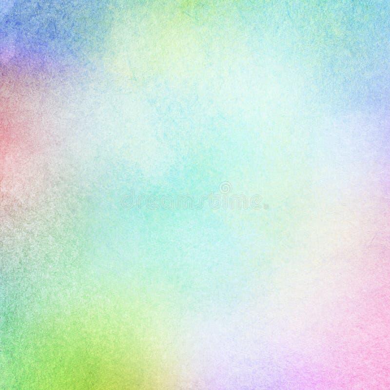Красочным абстрактным акварель покрашенная светом иллюстрация штока