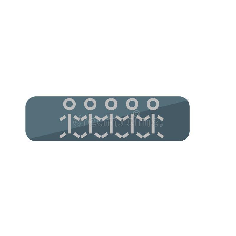 Крася вектор значка изолированный на белой предпосылке, знаке картины, символах древней истории бесплатная иллюстрация