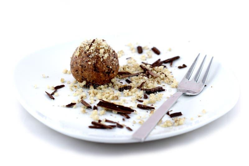краткость шоколада торта стоковые изображения