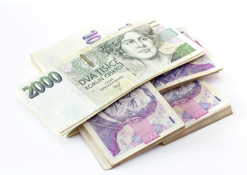 кредитки чехословакские стоковые фото