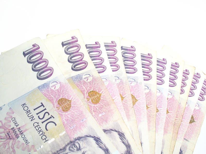 кредитки чехословакские стоковая фотография rf