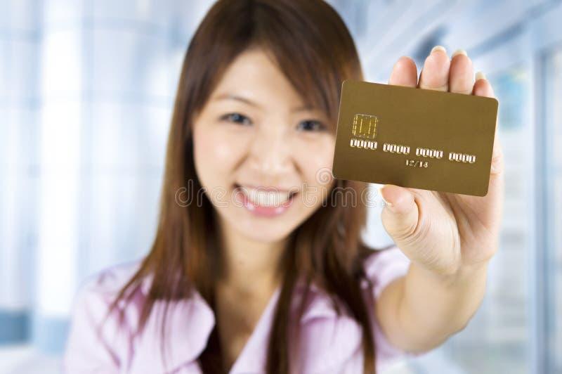 Кредитная карточка стоковое изображение rf