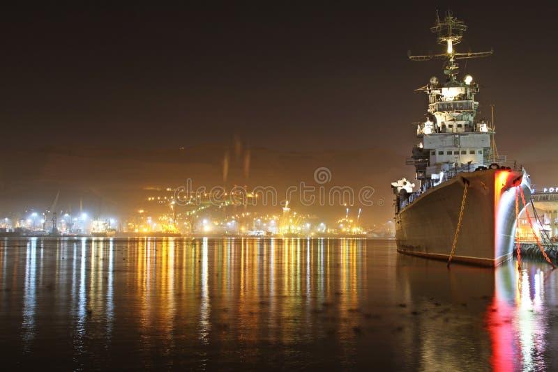 Крейсер Kutuzov стоковая фотография rf