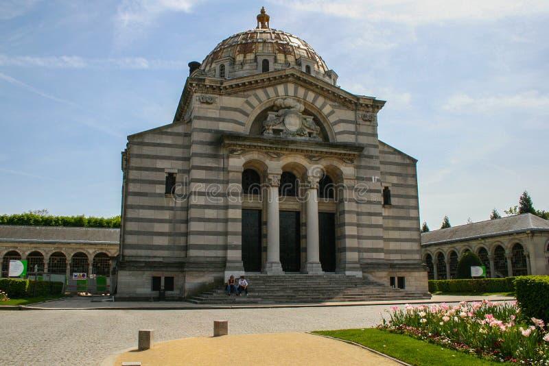Крематорий Père Lachaise Перемещение вокруг Франции и осмотра достопримечательностей Парижа стоковые изображения rf