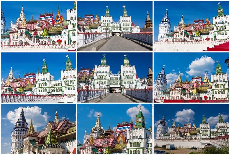 Кремль в Izmailovo стоковые изображения rf