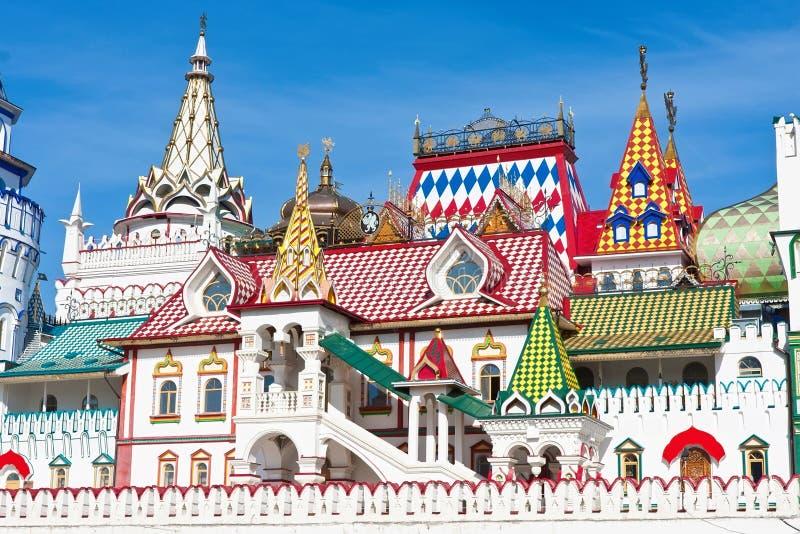 Кремль в Izmailovo стоковое фото rf