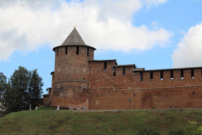 Кремль в Nizhny Новгород стоковые изображения rf
