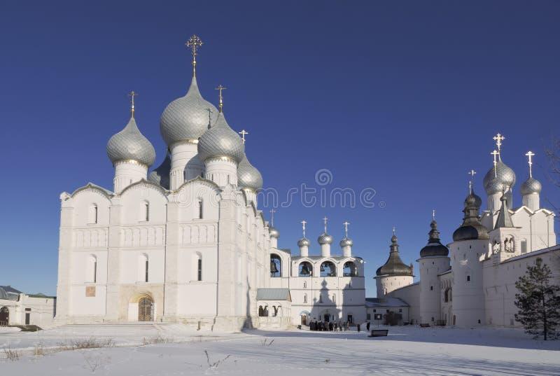 Кремль Ростова большой стоковые фотографии rf