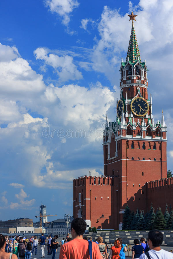 Кремль с голубым небом стоковая фотография