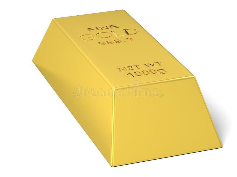 кренить золот в слитках золотистый слиток иллюстрация штока