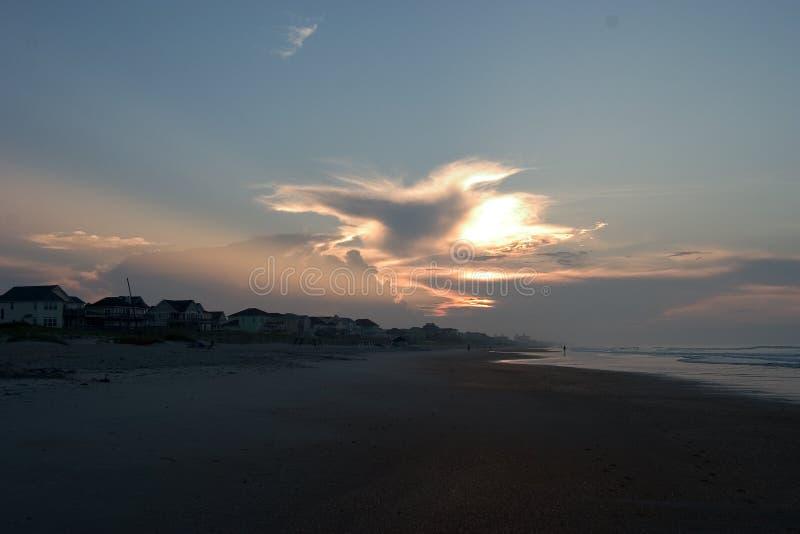 кренит восход солнца Каролины северный наружный s стоковое изображение rf