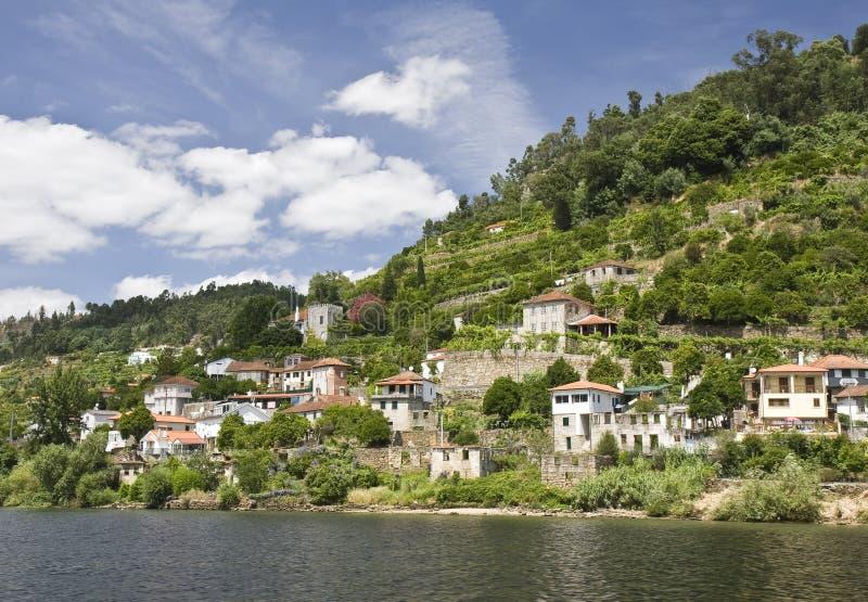 кренит река douro стоковая фотография rf