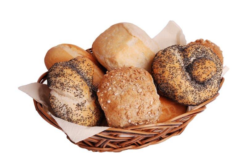 крены лакомки хлеба свежие стоковое фото