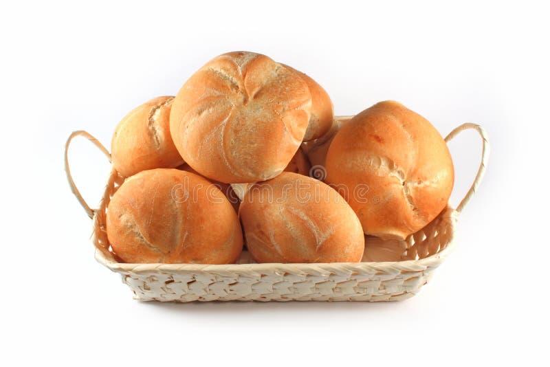 крены хлеба корзины стоковые фото