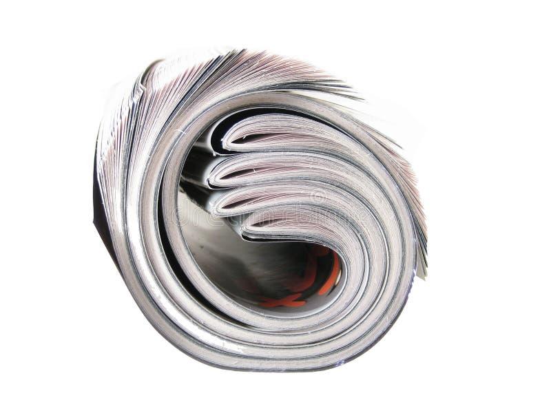 крен газеты стоковое фото