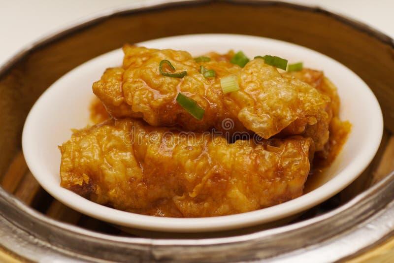 Крен кожи Tofu стоковое изображение rf