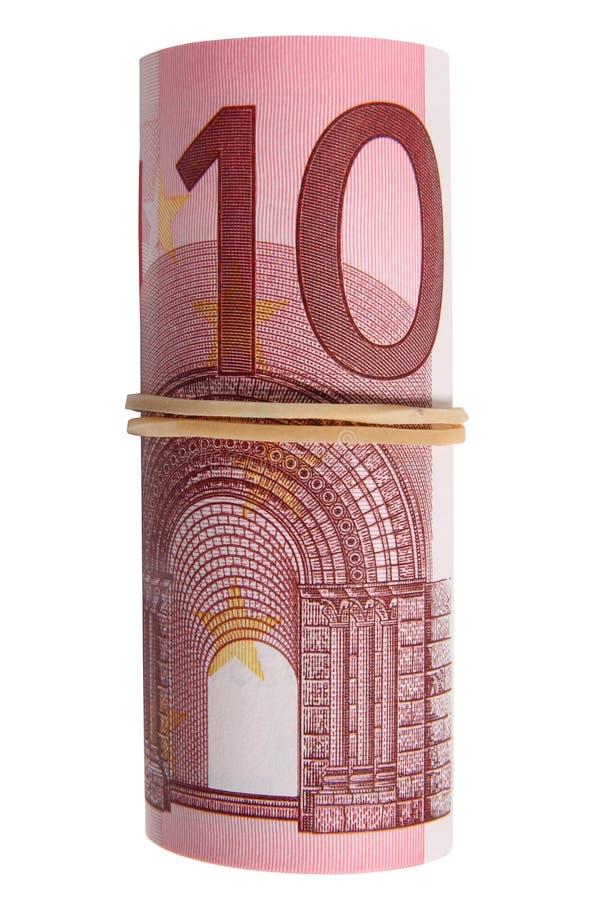 крен 10 примечаний евро стоковая фотография