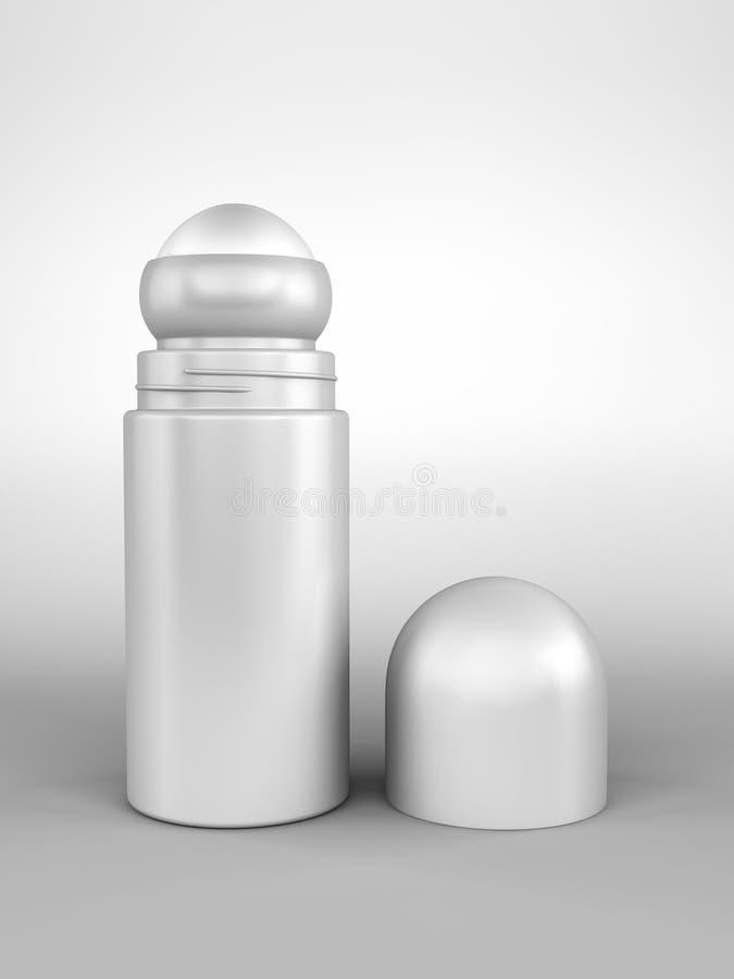крен deodorant открытый иллюстрация вектора