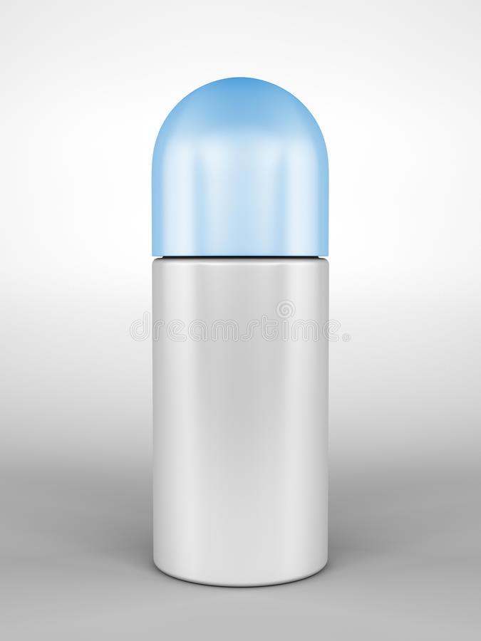 крен deodorant иллюстрация вектора