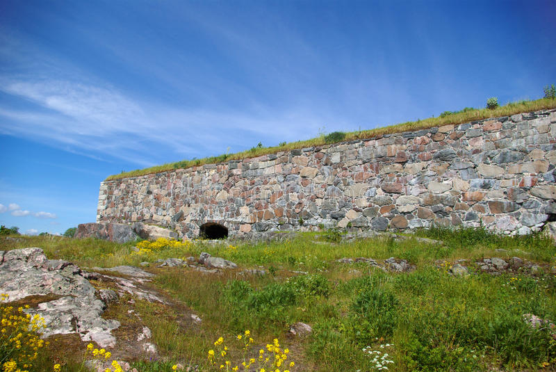 крепостная стена стоковое фото