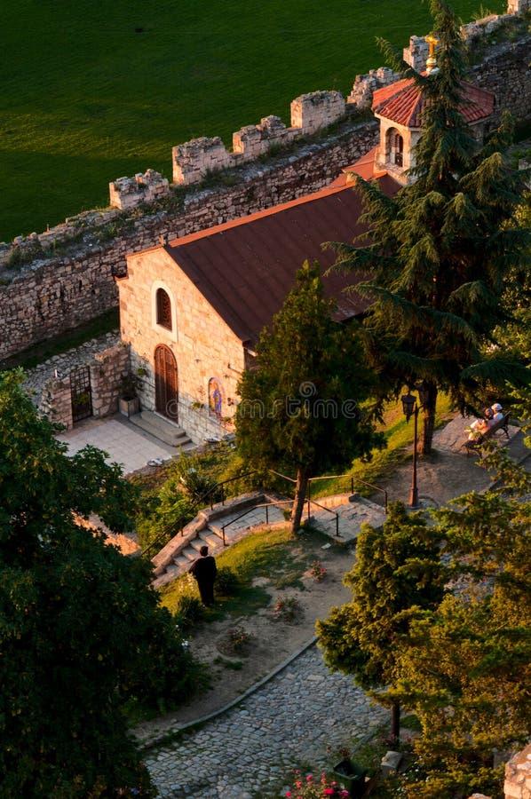 Крепость Белграда стоковое изображение