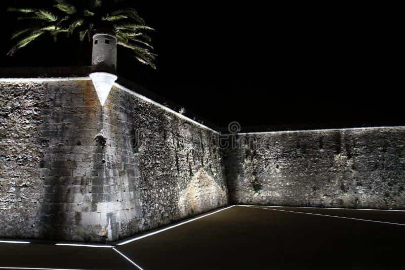 Крепость в Cascais стоковая фотография rf