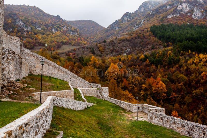 Крепость в Travnik Боснии и Герцеговине стоковые фото