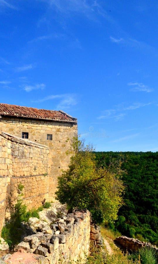 Крепость горы стоковые фотографии rf