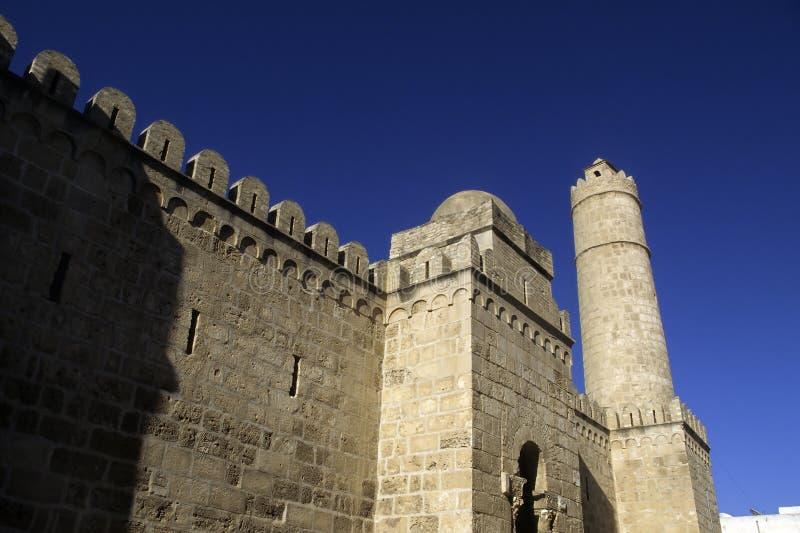 крепость исламский Тунис стоковые фотографии rf