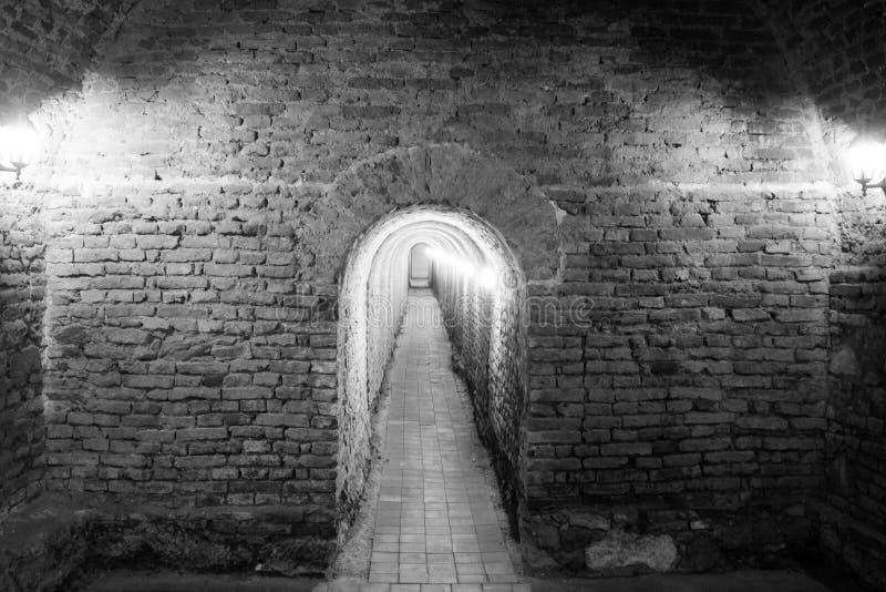 Крепость Каролины подземного прохода Alba стоковое фото rf