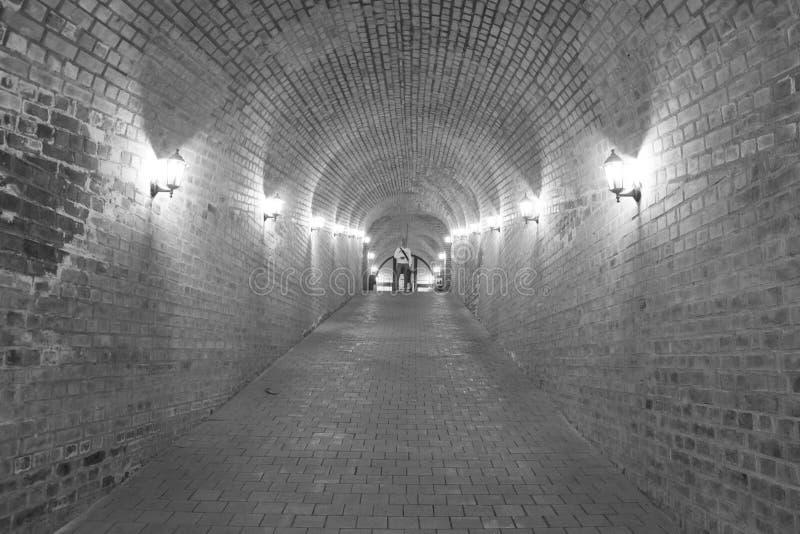 Крепость Каролины подземного прохода Alba стоковое изображение