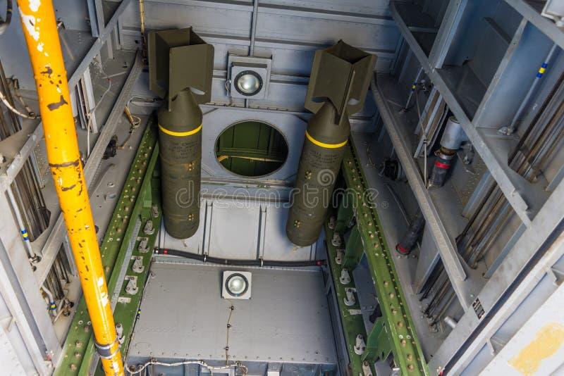 Крепость летания Боинга B-17 ветерана стоковая фотография