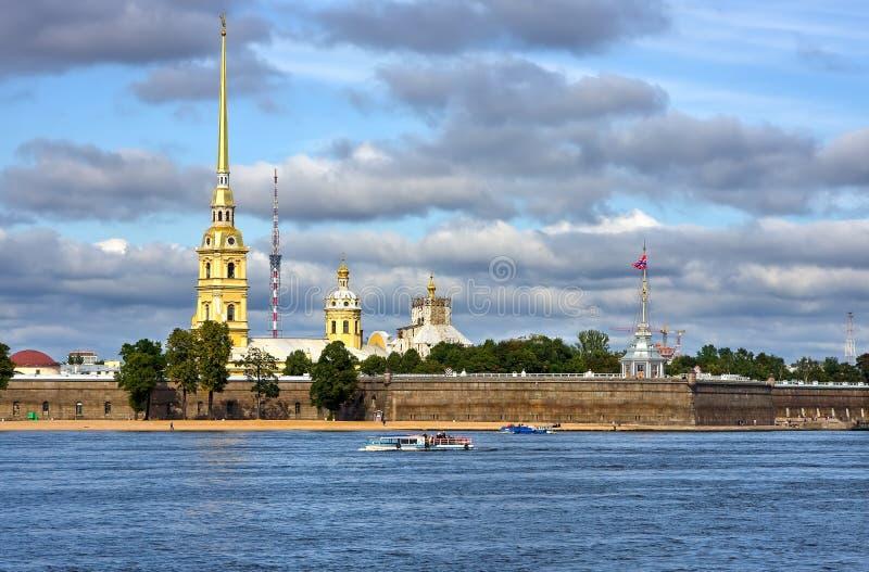крепость Паыль peter стоковое изображение