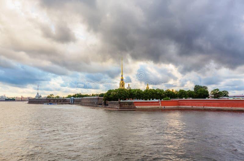 крепость Паыль peter стоковое фото rf
