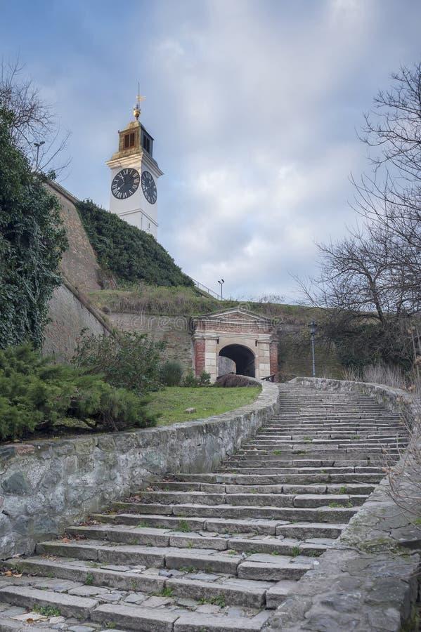 Крепость Сербия Белграда Kalemegdan стоковое фото